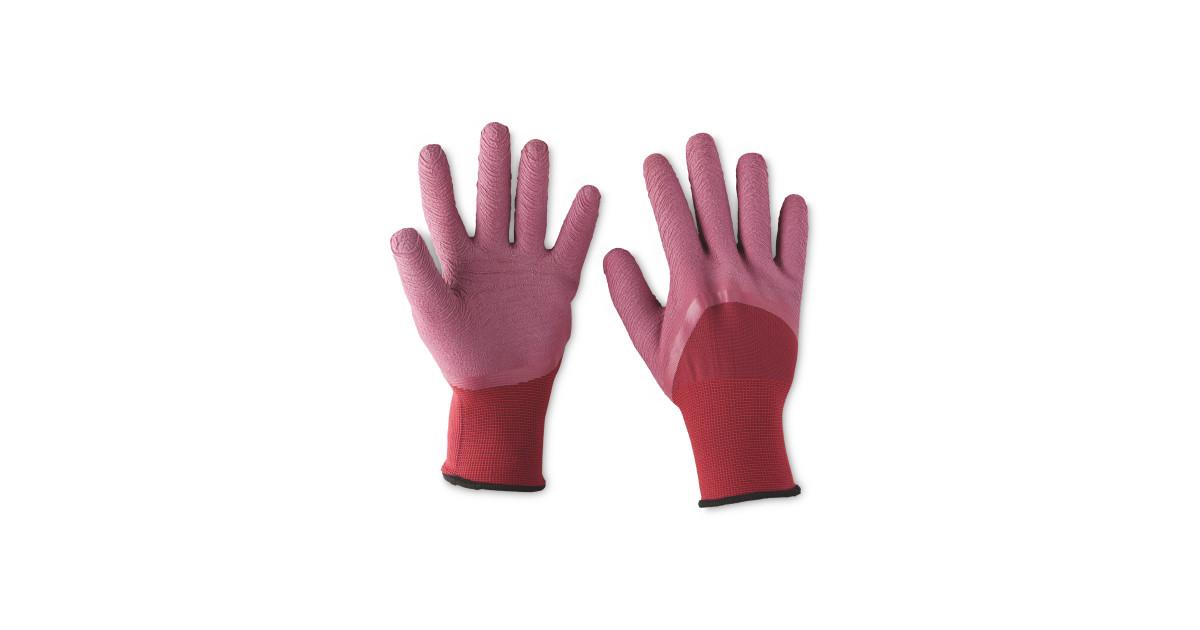 Ladies gardening gloves aldi uk for Gardening gloves ladies