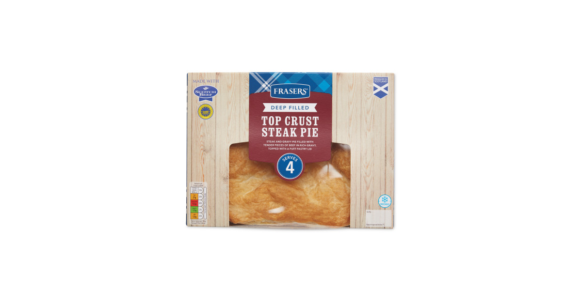 Large Deep Filled Crust Steak Pie - ALDI UK