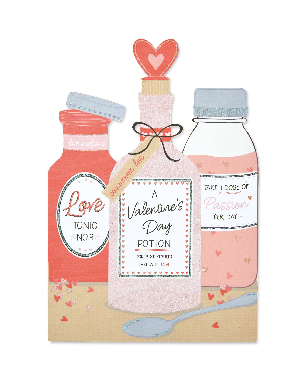 large valentines day potion card aldi uk huge valentines day cards