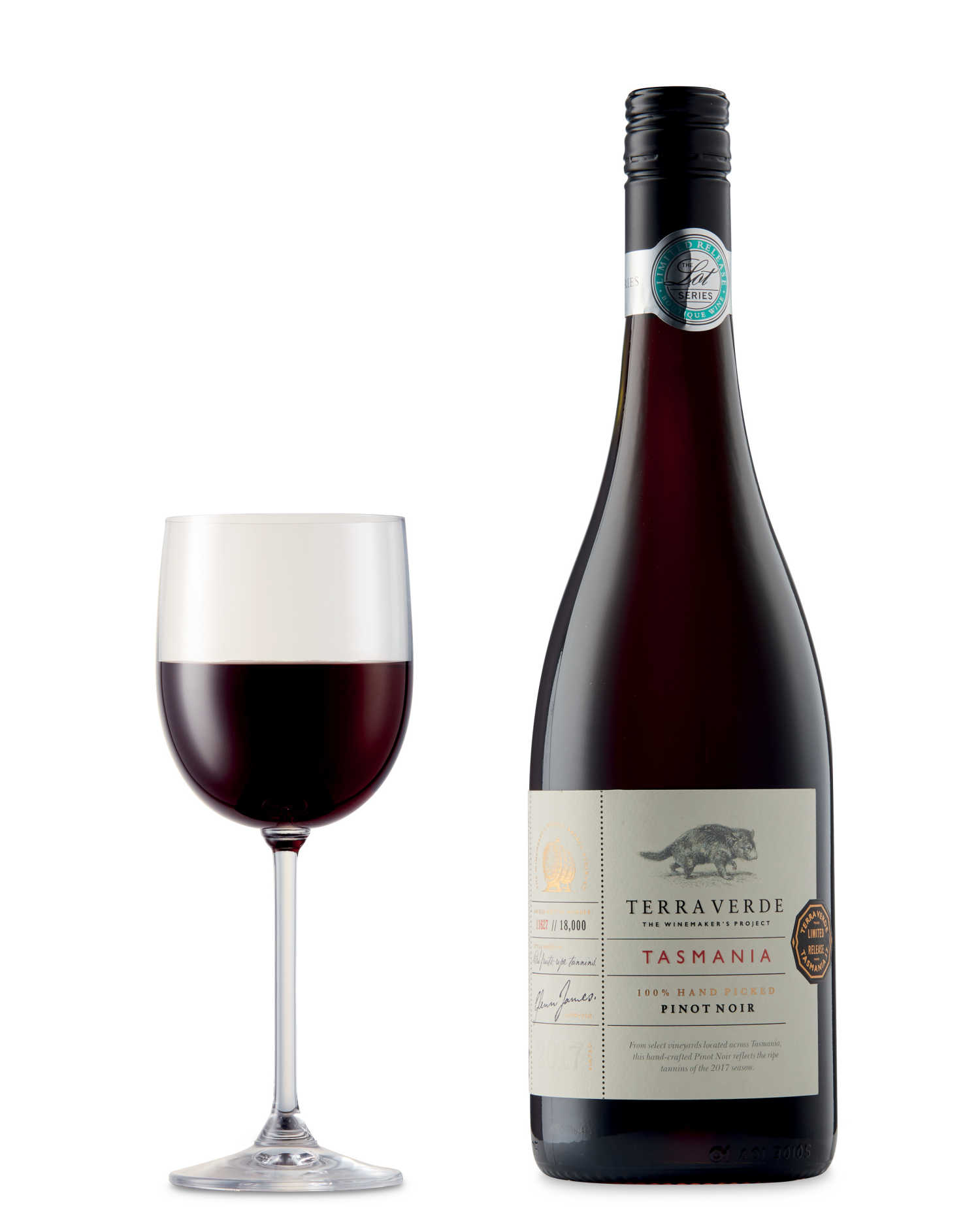 Lot Series Tasmanian Pinot Noir 2017