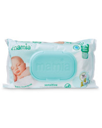 Mamia Sensitive Baby Wipes 64 Pack