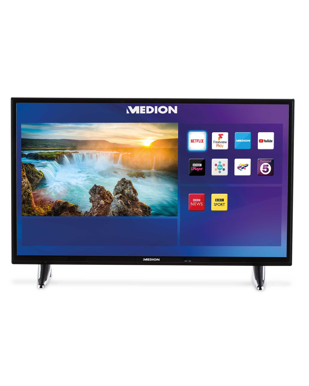 medion 32 inch smart tv with built in wi fi aldi