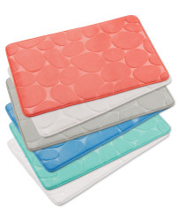 Memory Foam Pebble Bath Mat Aldi Uk