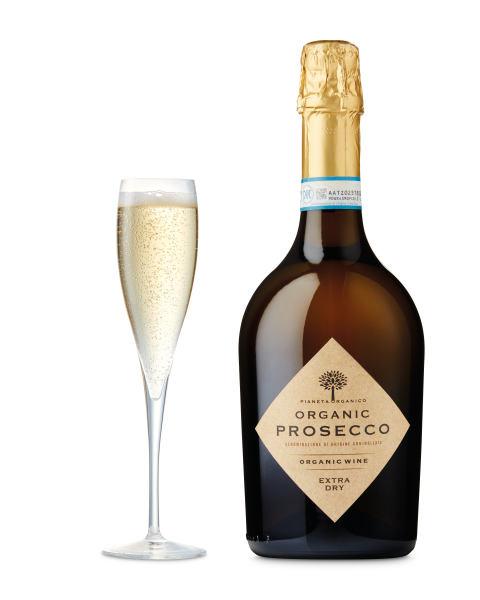 Pianeta Organico Organic Prosecco Extra Dry NV,Italy