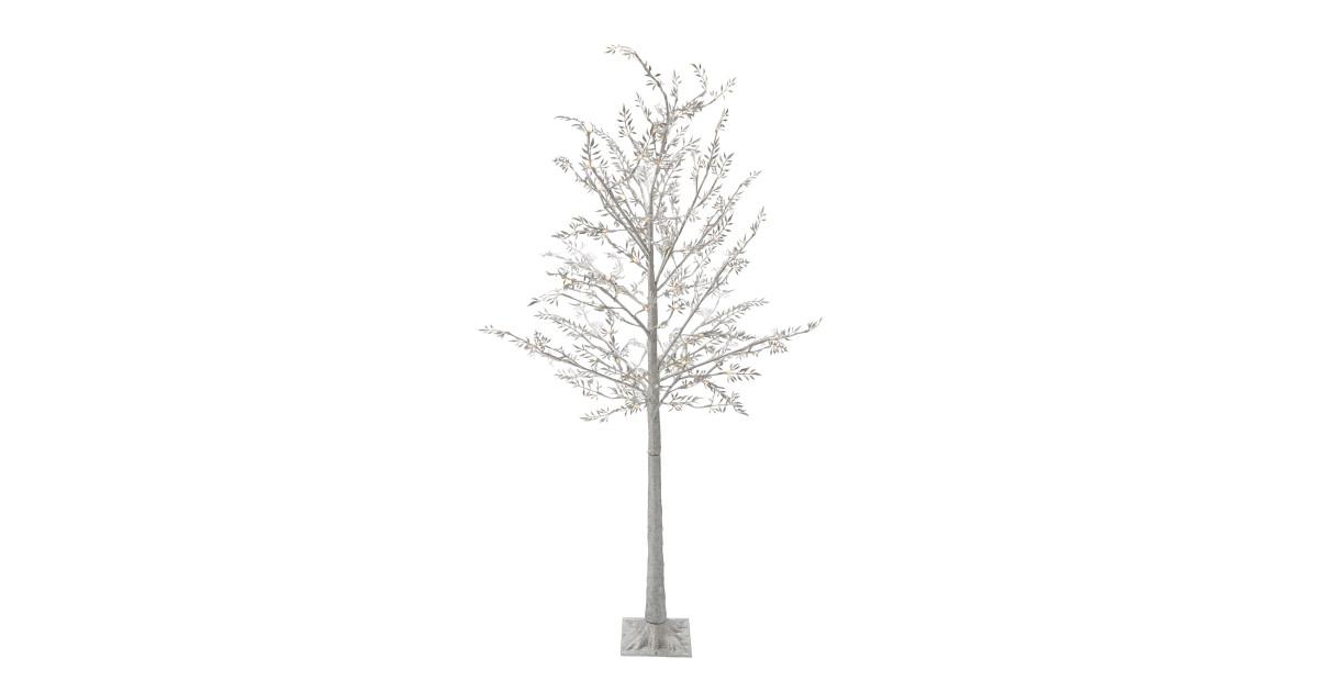 perfect christmas glitter tree aldi uk. Black Bedroom Furniture Sets. Home Design Ideas
