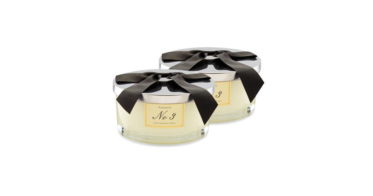 Aldi Luxury Pomegranate Candle