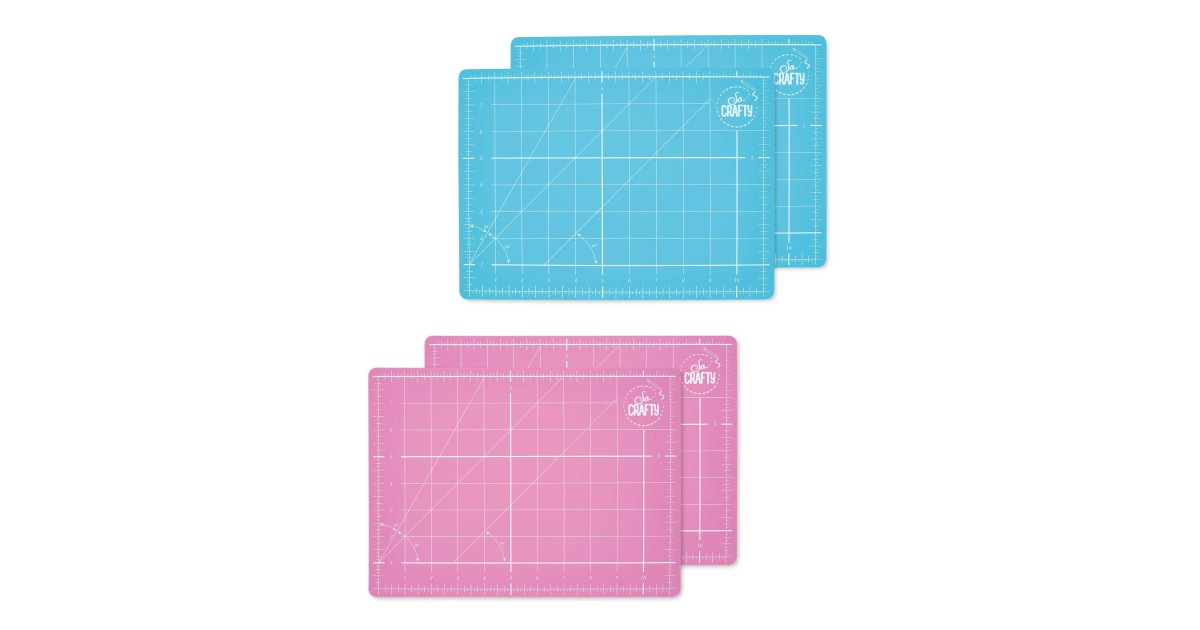 So Crafty A4 Cutting Mat 2 Pack Aldi Uk