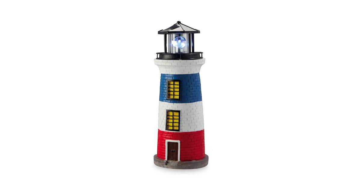 solar lighthouse aldi uk. Black Bedroom Furniture Sets. Home Design Ideas