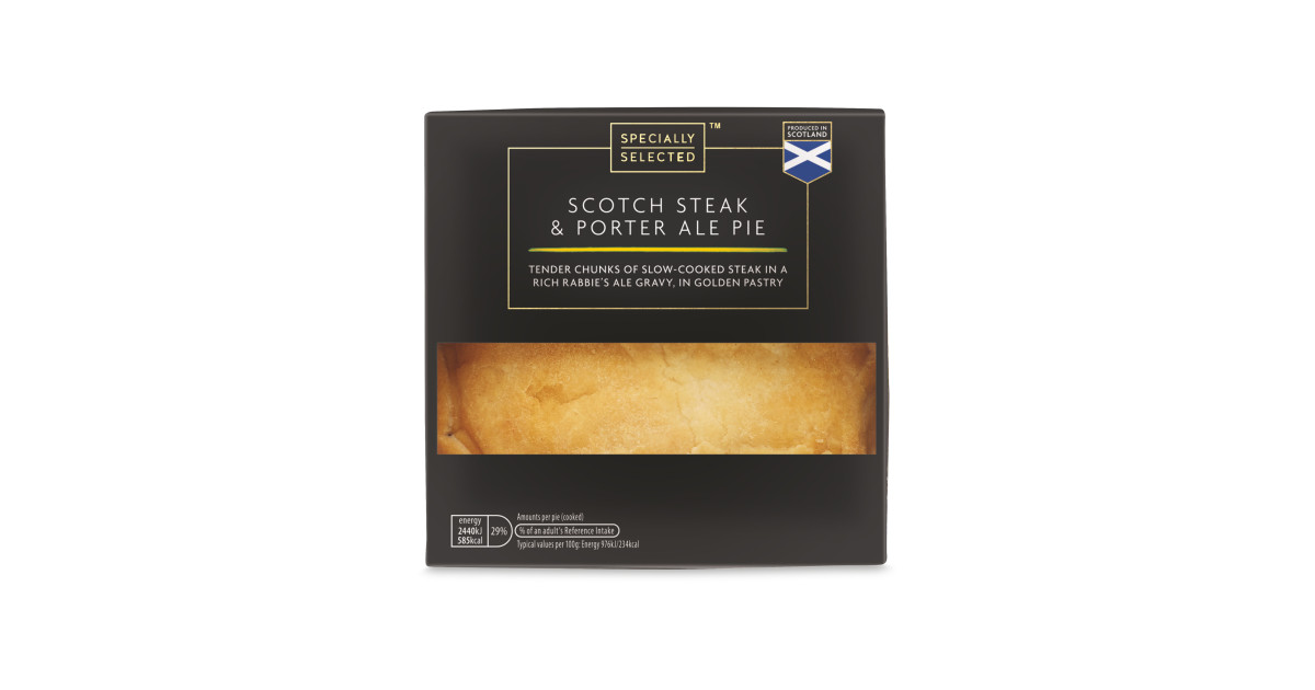 Steak & Porter Ale Pie - ALDI UK