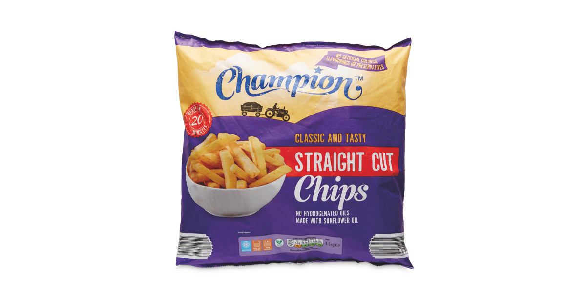 Straight Cut Chips Aldi Uk