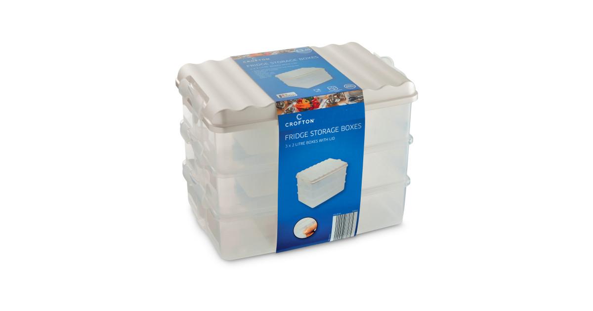 Tall Fridge Storage Boxes (3 Pack) - ALDI UK