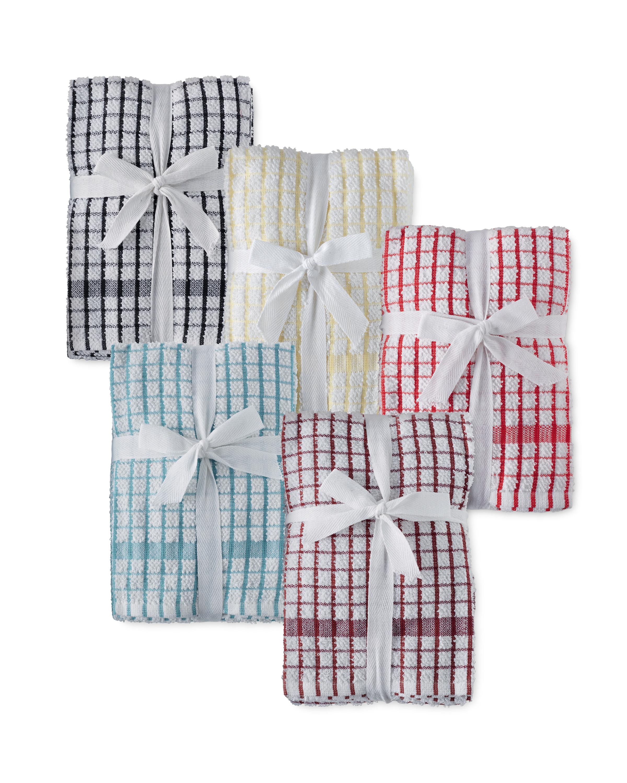Terry Tea Towels 5-Pack - ALDI UK