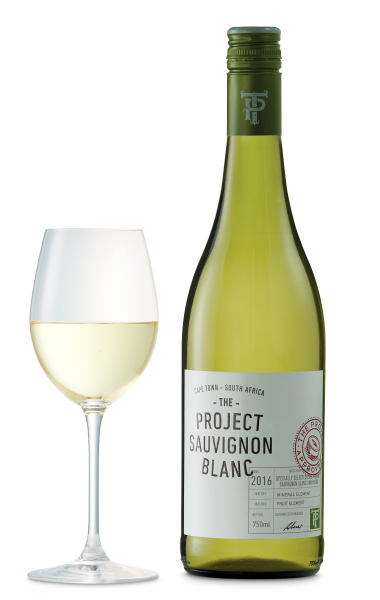 The Project Sauvignon Blanc 2016, South Africa