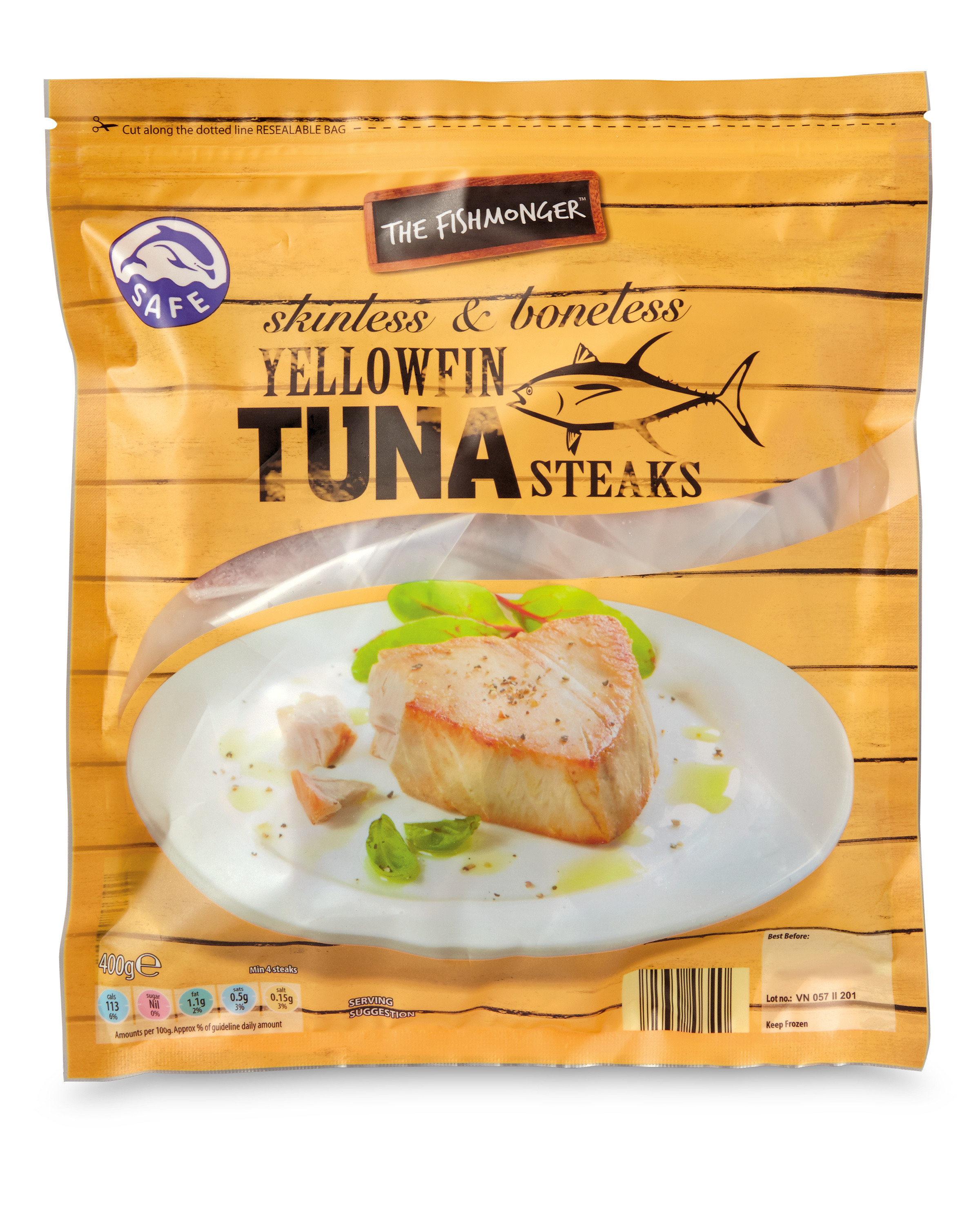 frozen tuna steaks aldi