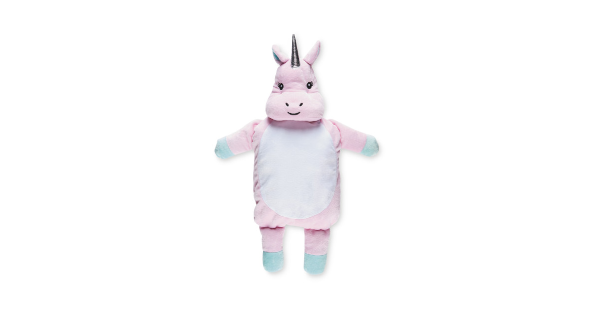 Little Town Unicorn Hot Water Bottle Aldi Uk