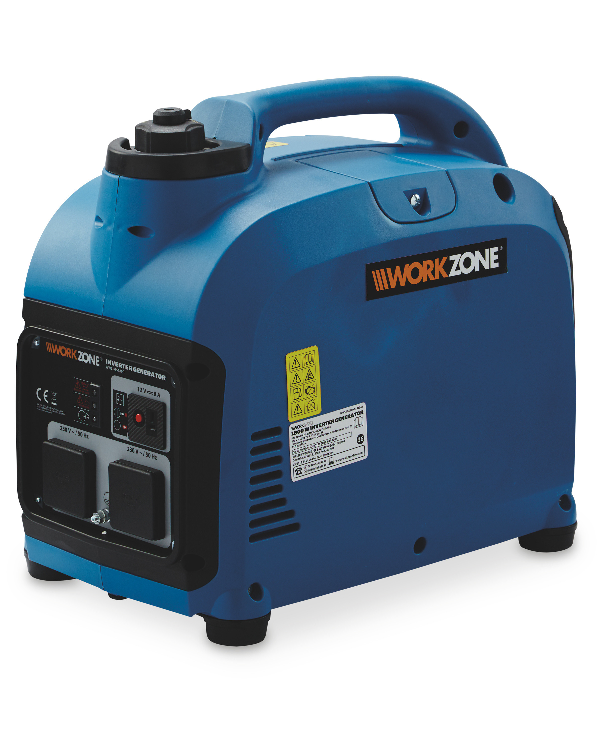 Petrol Generator Portable Inverter Aldi How Does An Electric Work